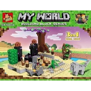 Klocki My World 3w1 240pcs