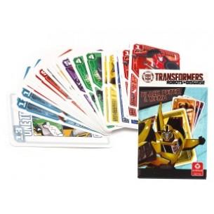 Karty Czarny Piotruś & Memo Transformers DELUX