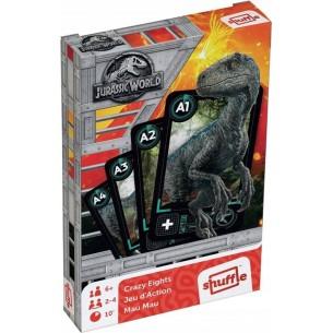 Karty Czarny Piotruś & Memo Jurassic World