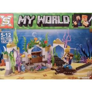 Klocki My world 170+pcs 4wz