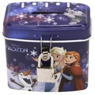 Skarbonka metalowa Frozen z kluczykiem (6)