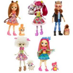 Barbie ENCHANTIMALS lalka+ zwierzątko(8)***