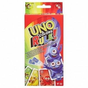 Mattel Uno Kolory Rządzą