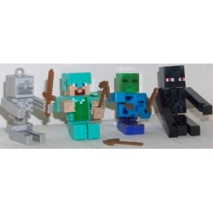 Minecraft figurki 4wz. 16szt dis.
