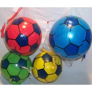 Piłka na sprężynie zielona